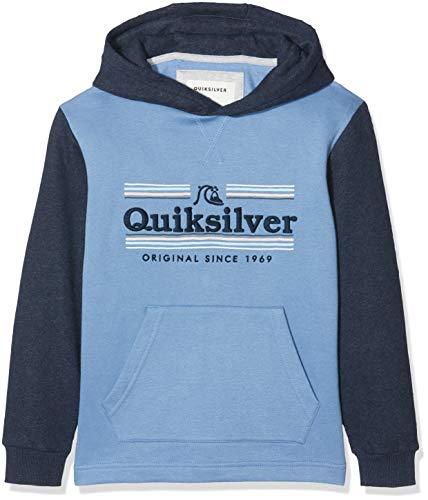 Quiksilver Dove Sealers - Sudadera con Capucha para Chicos 8-16 Sudadera con Capucha, Niños, Quiet Harbor, S/10