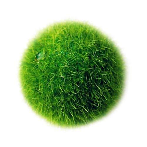 Fenteer Artificielle Boule d'herbe Plastique Pelouse Grass Intérieur Extérieur Vert Synthétique Gazon Micro Ornement Paysage Décoration