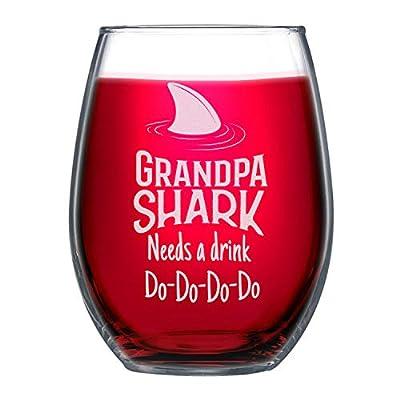 NeeNoNex Grandpa Shark Needs a Drink PARENT