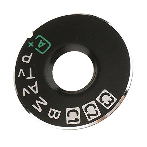 D DOLITY Sostituzione Fotocamera Interfaccia Tappi Bottoni per EOS - Nero - Nero, 5D3