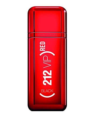 CAROLINA HERRERA 212 VIP Black Red Eau DE Parfum EDICION Limitada 100ML VAPORIZADOR Unisex Adulto, ROJO, Único