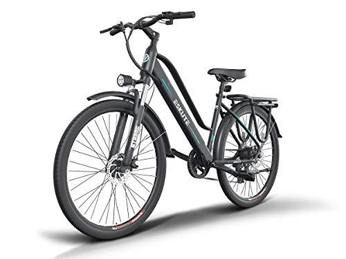 ESKUTE E-Bike Bici Elettrica 28' da Città Citybike Olandese Padalata Assisitita per Adulto Unisex, Batteria Rimovibile al Litio 36V10Ah, 250W Motore Posteriore, Compagno Affidabile per Vita Quotidiana