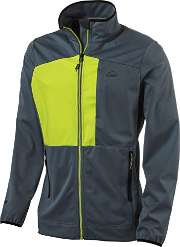 McKINLEY Herren Clifton Jacke, Navy/Green Lime, L