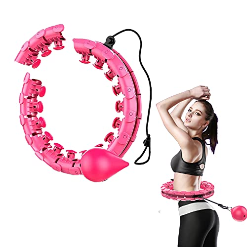 Hula hoop Fitness Professionale Dimagrante 2 in 1 Smart Hula Hoop Misura Adattabile Con...