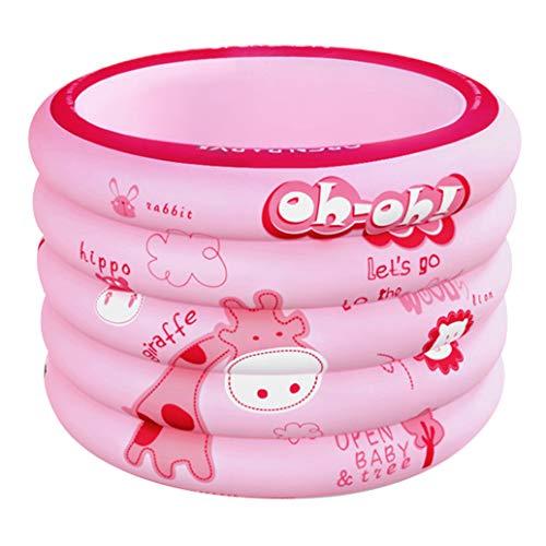 WenFei shop Piscina para Niños, Piscina Inflable De 3 Anillos Engrosada, Piscinas De Remo Hinchables para Jardín Al Aire Libre, 39.37 * 29.52 Pulgadas
