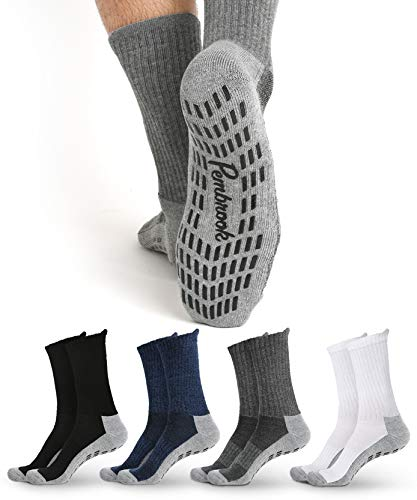 CHARMKING Compression Socks for Women & Men Circulation 15-20 mmHg is Best Graduated Athletic for Running, Flight Travel, Crossfit, Pregnant, Cycling - Boost Performance, Durability (L/XL, Multi 06)