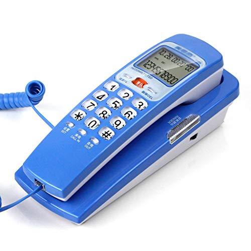 HTDZDX - Extensión de teléfono con Cable para Pared con Pantalla (tamaño pequeño), diseño de Escuela y Ascensor