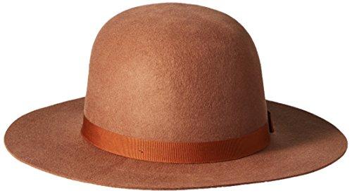 Brixton Men's Colton Hat, Dark Tan, Small