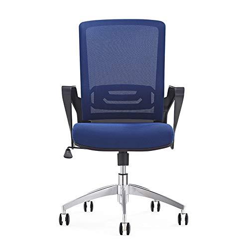 MAATCHH Sedia da Ufficio scrivania Sedia Flip-up Sedia da Ufficio con braccioli Moderna Mesh Traspirante Sedia ergonomica Ufficio Ruote Regolabili con Ruote Sedile a 360 ° di Rotazione