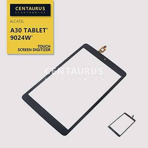 CENTAURUS Replacement for Alcatel A30 Tablet Front Touch Screen Digitizer Glass Part Compatible with Alcatel A30 Tablet 2017 9024W T-Mobile 8.0 inch (NO Frame NO LCD)