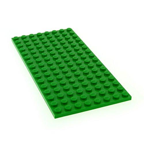 1 x Lego System Bau Platte bright hell grün 8 x 16 Wiese Rasen für Set 41122 10253 41095 10247 21115 92438