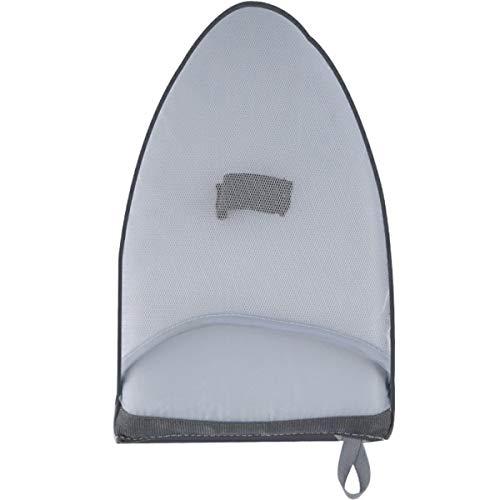 Nihlsen Mini almohadilla de planchado de mano, soporte para tabla de planchar, guante resistente al calor para ropa, estante de mesa de hierro Portabe