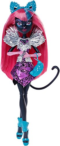 Monster High Mattel CJF27 - Buh York, Falsches Spiel Catty Noir, Puppe