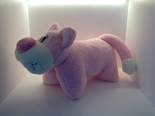 Knuffelkussen dierkussen reiskussen knuffelig zacht Panther Pink