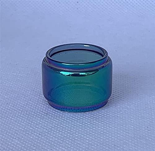 Denghui-ec 5pcs Sostituzione Trasparente a Bolle Arcobaleno in Vetro Adatto for vaporesso Tarot Nano 2ml Kit Tubo di Lampadina Normale 4ml (Colore : Rainbow Bulb Tube)