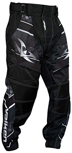 Valken Attack Paintball Pants - Black/Grey (Larg)