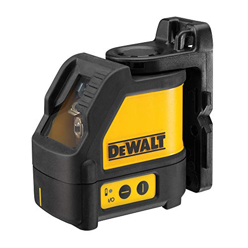 Dewalt DW088K-XJ 2 Way Self-Levelling Ultra Bright Cross Line Laser, 24.5cm...