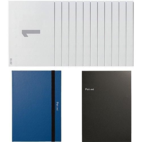 コクヨ Pat-mi 手帳 2018年 1月始まり A5 ニ-PC1-18