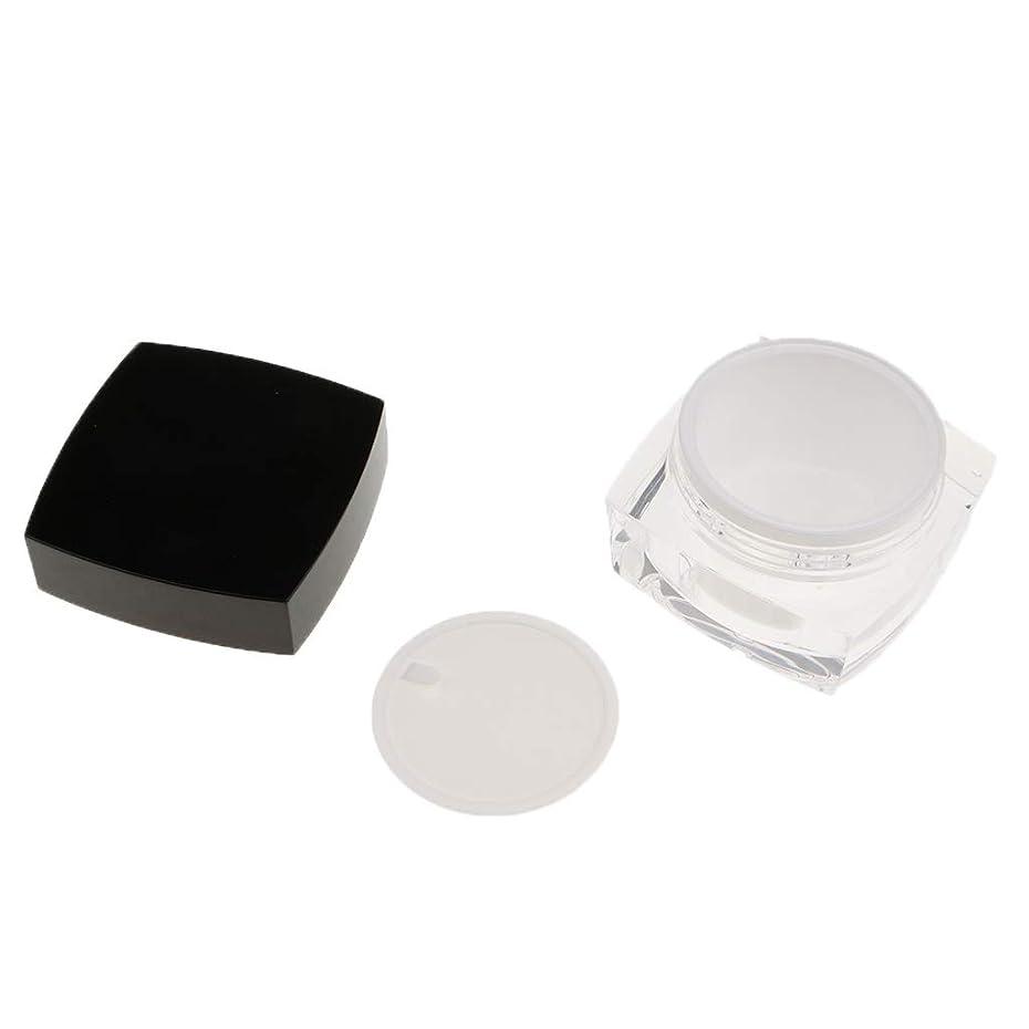 不毛のカカドゥ野ウサギPerfeclan 化粧品容器 プロ 容器 メイクアップ クリームジャー 瓶 小分けツール 2サイズ選べ - 50g