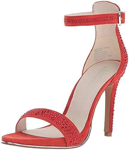 Kenneth Cole New York damen& 039;s Brooke Shine Glitzy Stiletto Dress Sandal Heeled, Persimmon, 7 M US