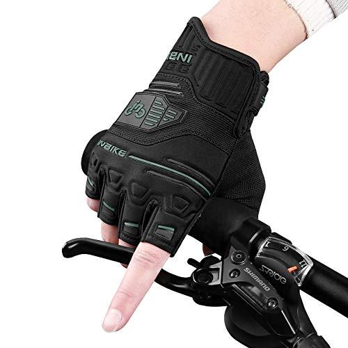 INBIKE Guantes Ciclismo Sin Dedos Protección Bici Verano MTB Medio Dedo Bicicleta...