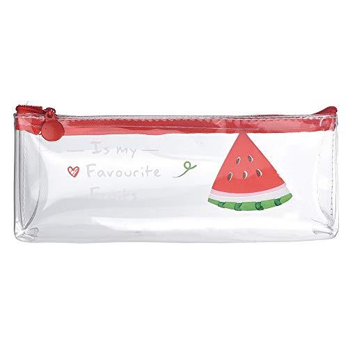 Qiuday Kosmetiktaschen Mäppchen Kosmetik Reise Kulturbeutel, Klein Make Up Bag Federmäppchen Täschchen für Reisen,Zuhause Transparente Federtasche Federmäppchen Aufbewahrungstasche für Schreibwaren
