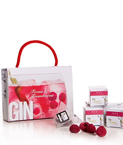 Té Tonic Experience – Minipack infusiones Fresa & Frambuesa para Gin & Tonic