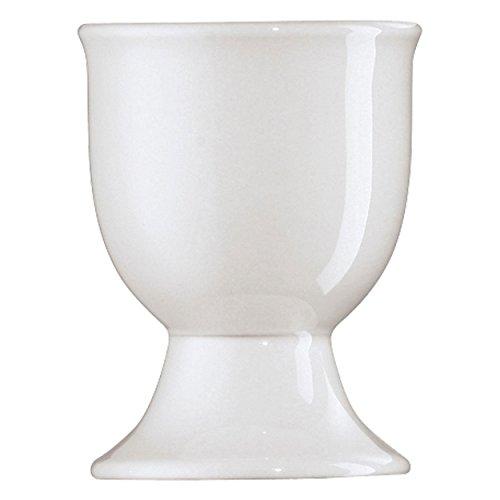 Arzberg Form 1382 Eierbecher auf Fuß, Eierhalter, Eier Becher, Becher, White, Porzellan, 41382-800001-15520