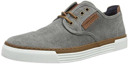 Camel active Herren Racket Sneaker, Grau (grey 01), 41 EU (7.5 UK)