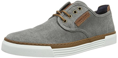 Camel active Herren Racket Sneaker, Grau (grey 01), 43 EU (9 UK)
