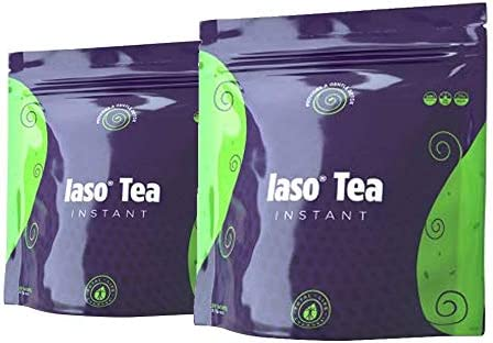 TLC Total Life Changes IASO Natural Detox Instant Herbal Tea - Expiration Date on The Pack Means Month/Year (10 Count (Pack of 1))