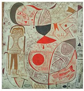 LAMINATED Paul Klee Printed Sheet with Pictures 1937 Art Print Poster - 11x14