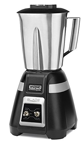 Waring Commercial BB300S 1-Hp bar Blender, Black Hawaii