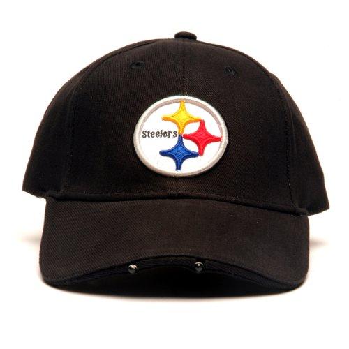 Lightwear NFL Pittsburgh Steelers Dual LED Headlight Adjustable Hat