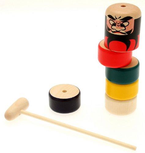 Kotobuki Daruma Otoshi Japanese Folk Craft Game