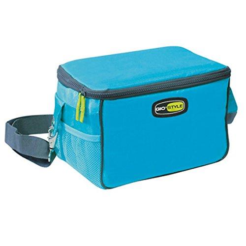 Gio'Style Kühltasche Reisetasche ideal für das Fahrrad Travel Lunch Bag 7 Liter 26x17x16 Meer Urlaub hellblau