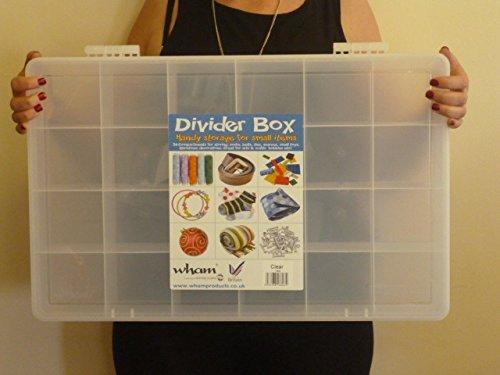 Stockage géant Divider Box Pour Mini Figures Toy - 24 compartiments - 60 x 38 x 9.5