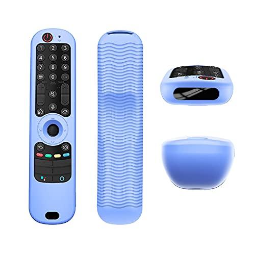 Camlis Funda Protectora De Control Remoto De TV para LG AN-MR21GA / AN-MR21GC / AN-MR21N Control Remoto De TV Silicona A Prueba De Golpes