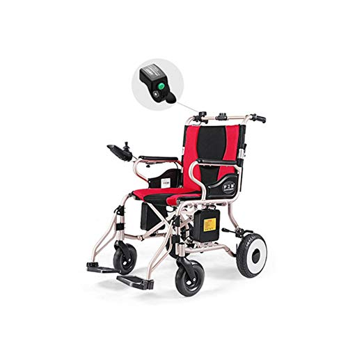 Fantastic Prices! 4-Wheel Electric Wheelchair, Intelligent Full Automatic Electric Mobility Scooter,...