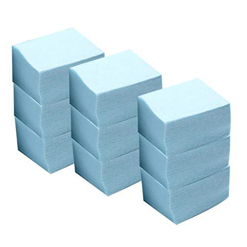 MERIGLARE Esmalte de Uñas de 600x Quitar Almohadillas Toallitas Sin - azul claro