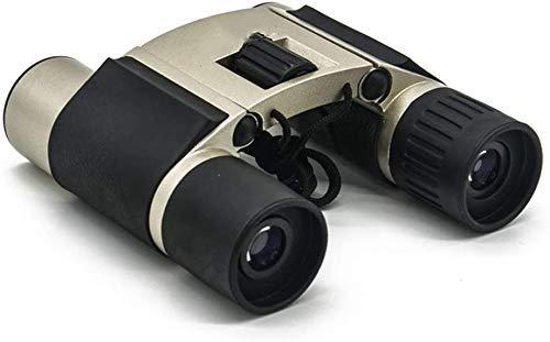 Mini Binoculares para Adultos Y Niños, 8 X 21, Plegable Compacto HD...