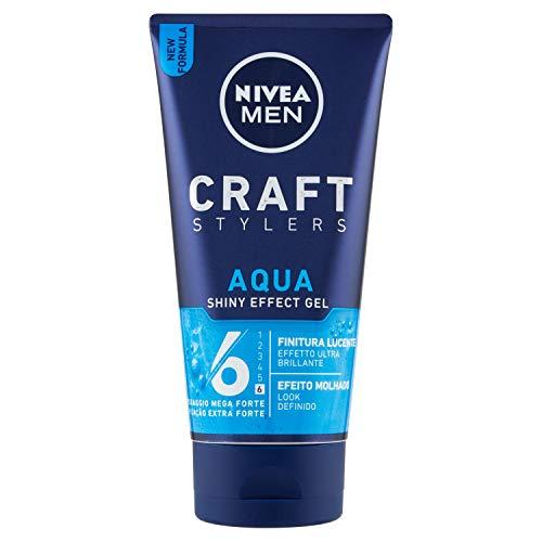 NIVEA Gel Aqua Rohr 6 Mega Starke Gel 150 Ml. Haargel