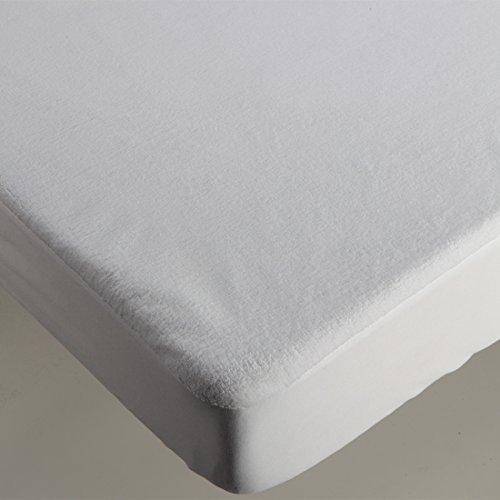 Burrito Blanco matrasbeschermer, waterdicht, Coralin, wit cama 180x190/200 cm Regulable