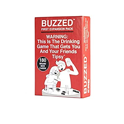 Buzzed - This is The Drinking Game That Gets You and Your Friends Tipsy! - Expansion Pack #1