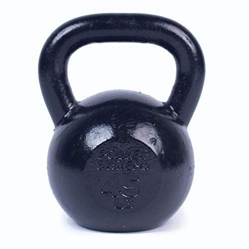 Power Systems Kettlebell, 8 Pounds, Black (50202)