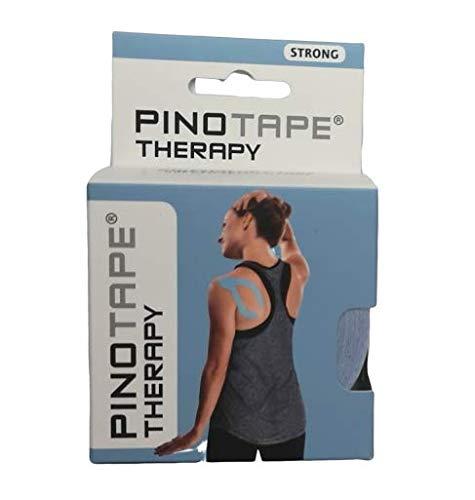 Pro Therapy - Baumwolle - 5 cm x 5 m- besonders hautverträglich - Kinesiologie - Physio-Tape Kinesio-Tape Sport-Tape (Ice Blue)