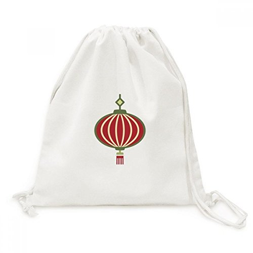 DIYthinker Laterne China Muster-Segeltuch-Rucksack-Reisen Shopping Bags