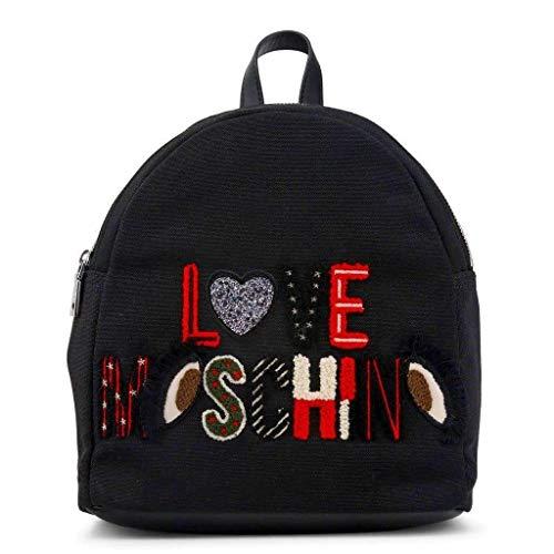 Love Moschino I See U Rucksack schwarz