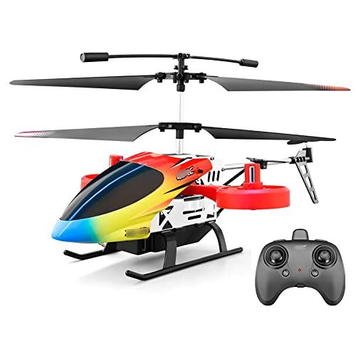 Avión de control remoto para niños 2.4Ghz Mini helicóptero no tripulado RC, avión de juguete para niños resistente a caídas, 4.5 canales, 25 minutos de duración de la batería, regalo para niños y niña