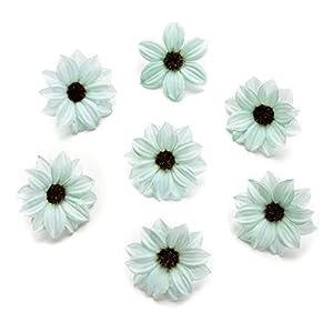 NWSX – Flores de Seda para decoración del hogar o Boda, 80 Unidades de 5 cm
